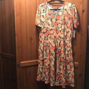 Lularoe Amelia Dress 3XL NWT